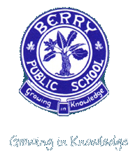Berry Public School  logo